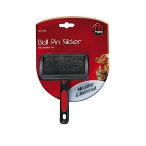 Mikki Slicker Brush Ball Pin - Small