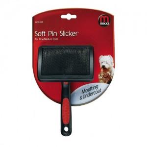 Mikki Slicker Brush Soft Pin - Medium