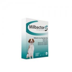 Milbactor voor grote honden - 4 tabletten
