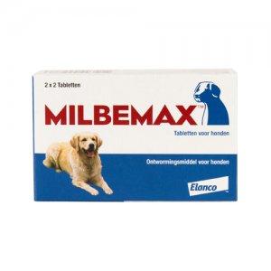 Milbemax grote hond 4 tabletten
