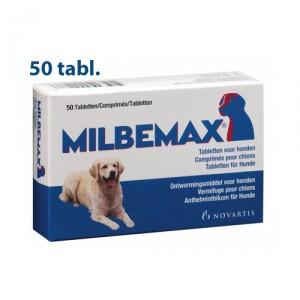 Milbemax grote hond 50 tabletten
