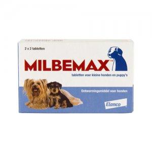 Milbemax kleine hond 4 tabletten