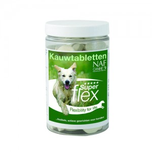 NAF Canine Superflex - Kauwtabletten - 90 stuks