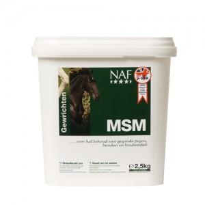 NAF MSM - 2,5 kg