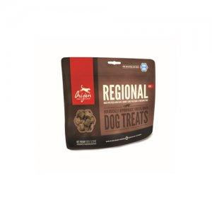 Orijen Dog Treat Freeze Dried – Regional Red (ca. 40 stuks) (THT 27-2-2019)