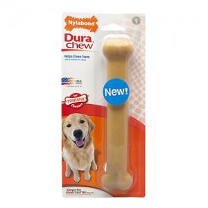 Nylabone Dura Chew Peanut Butter Hondenkluif - Giant (Tot 20 kg)