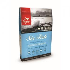 Orijen Six Fish Dog Whole Prey Proefverpakking - 340 g