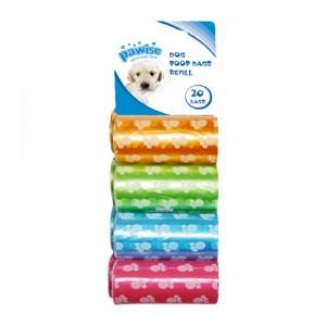 Pawise Poop Bags - 8 x 20 stuks