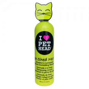 Pet Head Cat - De Shed Me Shampoo (aardbei) - 354 ml