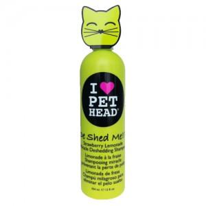 Pet Head Cat - De Shed Me Shampoo (aardbei) - 354 ml