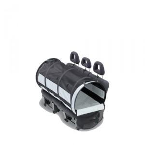 PetEgo Pet Tube Car Kennel – L (61 cm x 119 cm)