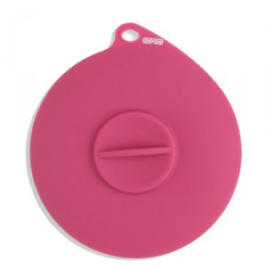 Popware - Flexible Suction Lid - Roze
