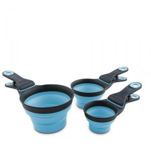 Popware KlipScoop - Medium 237ml - Blauw