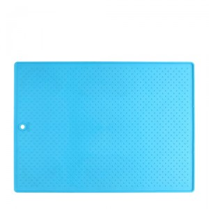 Popware Pet Bowl Grippmat (33 x 48 cm) - Blauw