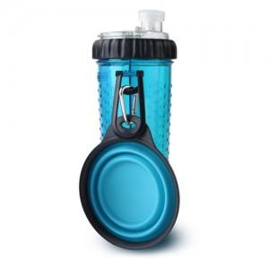 Popware Snack Duo met Travelcup – Blauw