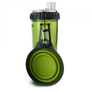 Popware Snack Duo met Travelcup – Groen