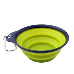 Popware Travelcup met Karabijnhaak – Groen – 473 ml.