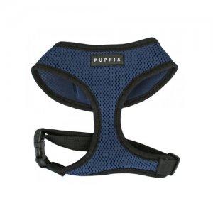 Puppia Soft Harness - S - Blauw