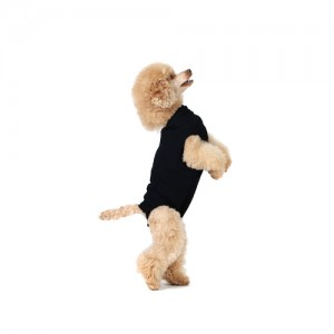 Suitical Recovery Suit Hond – S Plus – Zwart