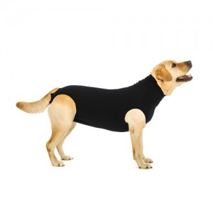 Suitical Recovery Suit Hond - XXL - Zwart