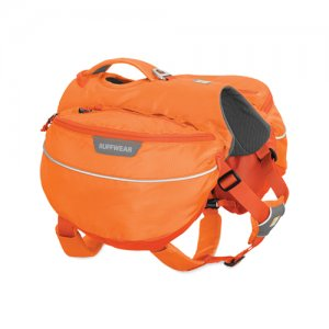 Ruffwear Approach Pack – L/XL – Orange Poppy