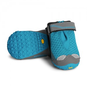 Ruffwear Grip Trex Boots - M - Blue Spring