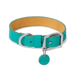 Ruffwear Timberline Collar - S - 36 tot 43 cm - Melt Water Teal