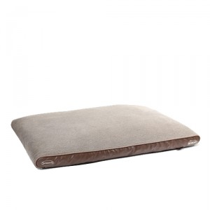 Scruffs Chateau Orthopeadic Pet Bed - 120 x 75 cm - Lichtbruin/Latte
