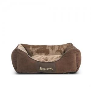 Scruffs Chester Box Bed - Chocolade (bruin) - L
