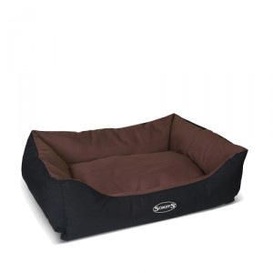 Scruffs Expedition Box Bed - S - 50 x 40 cm - Bruin