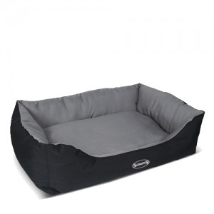 Scruffs Expedition Box Bed - M - 60 x 50 cm - Grijs