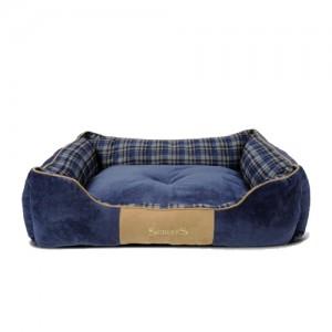 Scruffs Highland Box Bed - Blauw - L