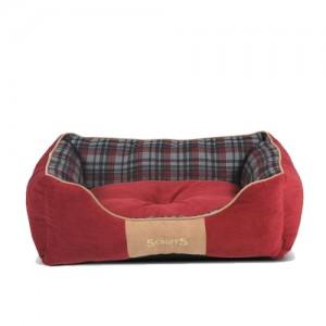 Scruffs Highland Box Bed - Rood - L