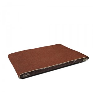 Scruffs Hilton Memory Foam - L - 120 x 75 cm - Bruin kopen
