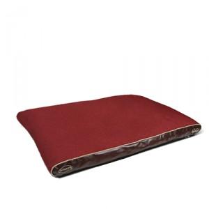 Scruffs Hilton Memory Foam - L - 120 x 75 cm - Rood kopen
