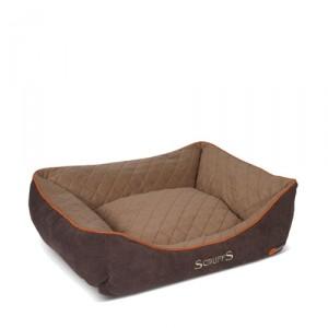 Scruffs Thermal Box Bed - L - 75 x 60 cm - Bruin