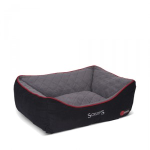 Scruffs Thermal Box Bed - L - 75 x 60 cm - Zwart