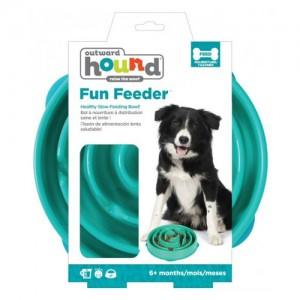 Outward Hound - Fun Feeder Drop - Teal