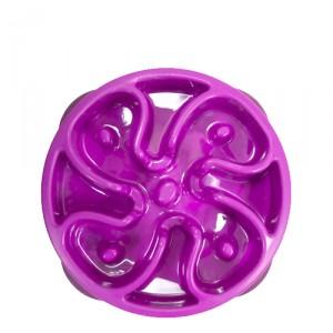Outward Hound Mini Fun Feeder Flower - Purple