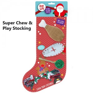Dog Life Super Chew & Play Stocking