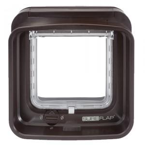 Sureflap DualScan kattenluik - Bruin