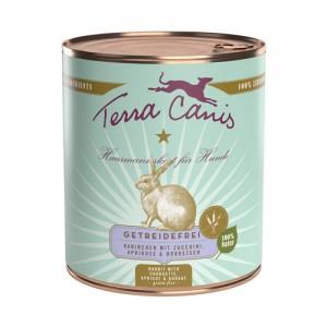 Terra Canis Grainfree - Konijn met Courgette - 6 x 800 g