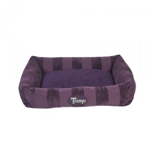 Tramps AristoCat Lounger - Paars - 50 x 40 x 8 cm