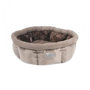 Tramps AristoCat Ring Bed - Beige - 45 x 45 x 16 cm