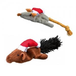 Trixie Kerst Muis en Eekhoorn