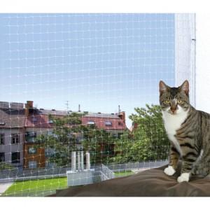 Trixie Net voor Balkon - Transparant - 8 x 3 m