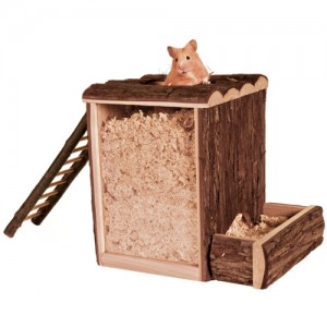 Trixie Play and Burrow Tower - 25 x 24 x 20 cm