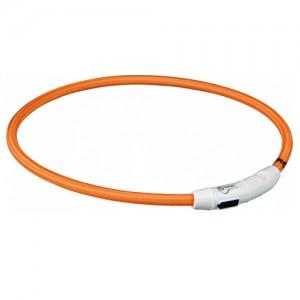 Trixie USB Flash Light Ring - L/XL - Oranje