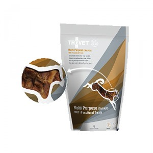 TROVET Multi Purpose Treats HOT (Ostrich) Hond - 150 gr