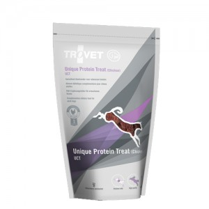 TROVET Unique Protein Treats UCT (Chicken) Hond - 125 gr
